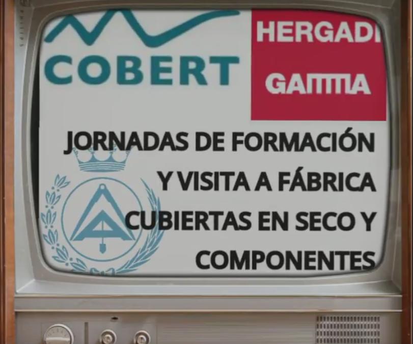 VISITA TECNICA FABRICAS DE COBERT DE LA  MANO DE HERGADI-GAMMA. JULIO 2017