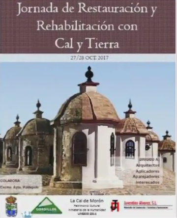 JORNADA DE RESTAURACION Y REHABILITACION CON CAL Y TIERRA